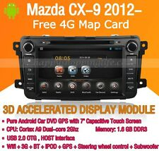 Android Car DVD Autoradio Stereo GPS Wifi 3G for Mazda CX-9 2012 2013 2014 2015