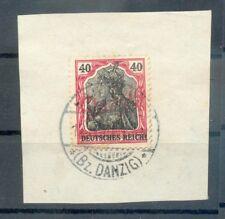 Danzig 38 STEMPEL Kahlbude gest. Luxusbriefstück (G9014