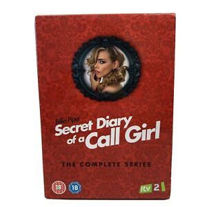 Secret Diary Of A Call Girl The Complete Series (4 DVD Set) Region 2