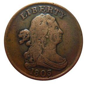 Half cent/penny 1803 mid grade
