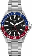 New Tag Heuer Aquaracer 300M Automatic Black GMT Men's Watch WAY201F.BA0927