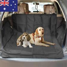 Dog Pet Car Back Seat Cover Cat Rear Protect Pad Paw Print Waterproof Mat Auto
