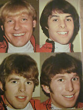 Paul Revere and the Raiders, Peter Tork, Monkees, Double Full Page Vintage Pinup