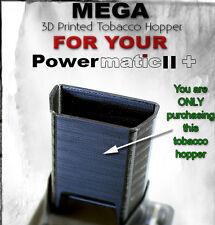 """MEGA"" Powermatic 2 & 2+ Cigarette Rolling Machine Tobacco Hopper  *HOPPER ONLY*"