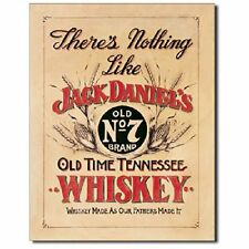 Jack Daniels Whiskey There's Nothing Like Bar Pub Wall Decor Metal Tin Sign New