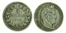 pcc1218_2) FRANCIA 5 francs Louis Philippe I 1841 W -  LILLE
