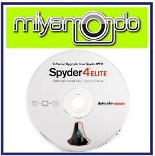 Datacolor Spyder4PRO Software Upgrade Disc to Spyder4ELITE