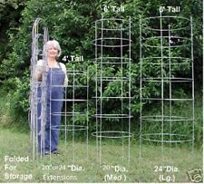 "Texas Tomato Cage 2 Ft. Tall Medium 20"" Diameter Extensions!"