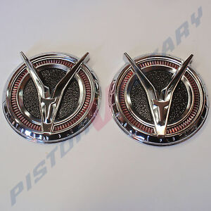 RX2 PILLAR BADGES x2 ANTELOPE , New for RX-2 Mazda Rotary 12A 13B CAPELLA C 616
