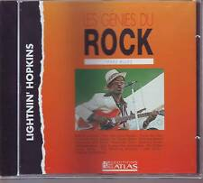 LIGHTNIN' HOPKINS texas blues  (CD)  (les genies du rock editions atlas)