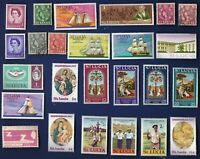25 ALL DIFFERENT ST LUCIA  STAMPS