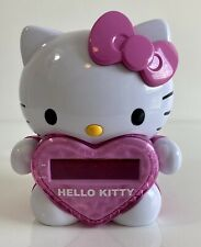 Hello Kitty Time On Wall Projection Projector AM/FM Alarm Clock Radio KT2064
