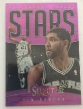 Not Autographed Select Basketball Trading Cards