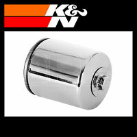 K&N Oil Filter Powersports Chrome Finish Motorcycle Oil Filter - KN-170C