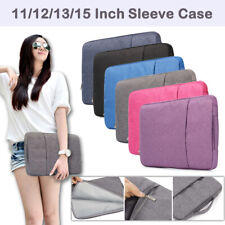 Pouch Sleeve Case Laptop Bag For MacBook AirPro Retina Lenovo Dell Asus Hp 11-15