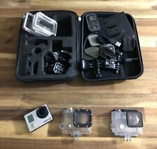 GoPro Hero3 Camcorder - Silber/Schwarz Set LCD