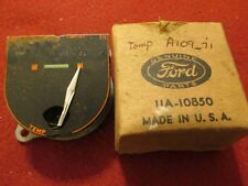 1930s-1940s Ford Temperature Gauge #11A-10850 or #A10971-BN:   N.O.S.