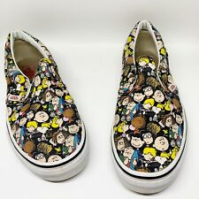 Vans x Peanuts Classic Slip On Shoes Girls Size 3