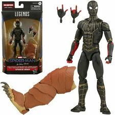 🔥Marvel Legends Black and Gold Spider-Man w/ Armadillo Baf piece In Stock! 🔥