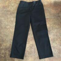 L L Bean Pants Womens 10 Black Bayside Hidden Comfort Waist Wrinkle Free