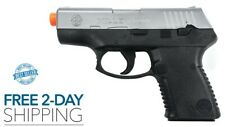 AIRSOFT GUN PISTOL BB Spring Powered Taurus PT Two-Tone NEW FREE 2 DAY SHIPPING