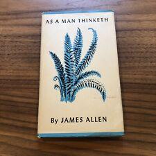 As A Man Thinketh By James Allen HC Book Peter Pauper Press  vintage