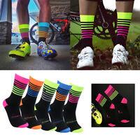Men Women Gym Sports Racing Cycling Socks Professional Breathable Bike Socks