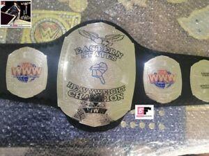 NWA Eastern States Wrestling Championship Leather Belt Adult Size