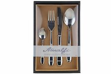 CUTLERY SET STAINLESS STEEL 16 PIECE TABLEWARE DINGING STYLISH KITCHEN APOLLO