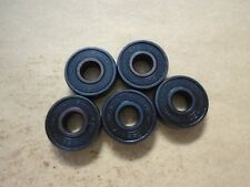 Qty. 5 Black Panthers Abec-7 Skateboard Bearings