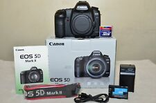Canon EOS 5D Mark II 21.1 MP (Body Only) w/Box + Extras_ Excellent!!