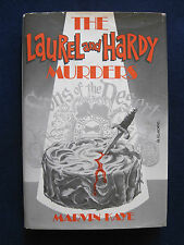 THE LAUREL & HARDY MURDERS - SIGNED by Author MARVIN KAYE 1st Ed.