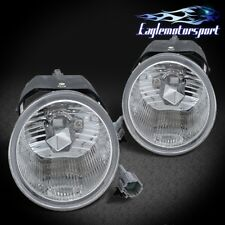 For 2001 2002 2003 2004 Nissan Frontier Sentra Xterra Clear Fog Lights w/Switch