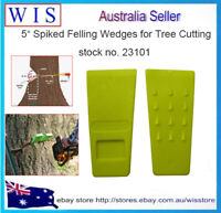 Spiked Tree Felling Wedges for Tree Cutting,Plastic Felling Wedge, Logging Tools