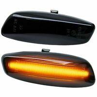 LED SEITENBLINKER schwarz für PEUGEOT 207, 308 I, 408, 3008, 5008, RCZ [7608-1]