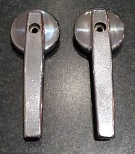 MK1 ESCORT INTERIOR DOOR HANDLES CHROME GENUINE RS2000 MEXICO AVO GT SPORT 1300E