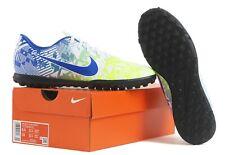 Nike Men Mercurial Vapor 13 Club NJR TF Cleats Futsal Blue Boot Spike AT8000-104
