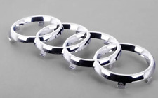 New Genuine Audi A3 A6 Front Bumper Center Grill Rings Badge Emblem 8P0853605