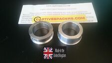 Suzuki GSXR 1000  2003 - 2008 Captive wheel spacers. Rear wheel set