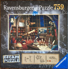 Ravensburger ESCAPE PUZZLE THE OBSERVATORY 759 Pieces Gently Used + Complete