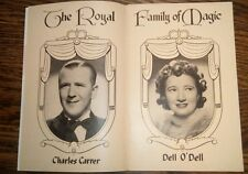 "Dell O'Dell~""Queen of Magic & Mistress of Mysteries"" 1946 Promotional Magic Book"