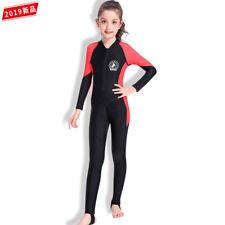 One-Piece Swimsuit  Kids Girls UPF 50+ Sun ProtectiveSurf Swimming Costume 3-15Y