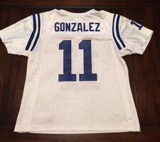 NFL Football Indianapolis Colts Anthony Gonzalez Reebok Jersey Women's Medium