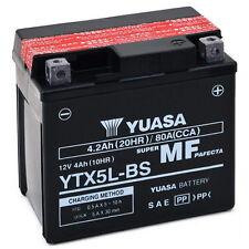 Batteria ORIGINALE Yuasa YTX5L-BS Aprilia Scarabeo 100 2T 00 01