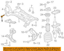 FORD OEM 12-18 Focus Front Suspension-Susp Crossmember Bolt W715485S442
