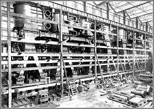 Photo: Titanic's Port Main Steam Reciprocating Engine, Belafst, 1911