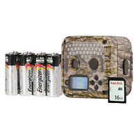 Wildgame Innovations Shadow Infrared Game Trail Camera with SD Card, Batteries