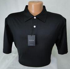Dunning Golf Black Polo Performance Stretch PGA Tour Quality MSRP $89 NWT - LG