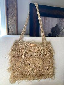 Vintage Tommy Bahama Straw Bag