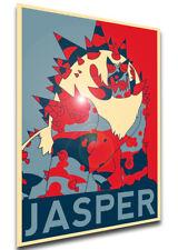 Poster Propaganda - Steven Universe - Corrupted Jasper - LL0191
